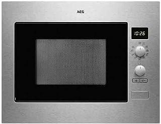 AEG MBS3423 CM - Horno microondas (acero inoxidable, antihuellas)