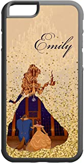 Koldan Beauty and the beast phone case Custom Disney Belle Princess iPhone X XR XS iPhone XS Max iPhone 7 Plus 8 10 case for Samsung Note 8 9 Samsung Galaxy s7 Edge S8 Note 8 Samsung Note 9 Cover Case