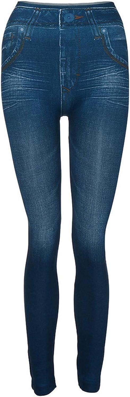 Women's Denim Pants Classic Casual Pocket Slim Leggings Fitness Skinny Plus Size Leggins Length Jeans