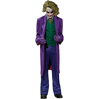 Rubie/'s Official The Joker Deluxe Dark Knight Costume Adult X-Large