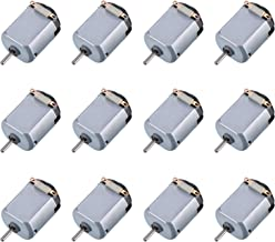 YANROO 12 Pack DC Motor 1.5-3V 18000RPM Mini Electric Hobby Motor High Torque Magnetic Powered Motors Accessories for DIY,Robot,Toys Car,Science Projects Experiments