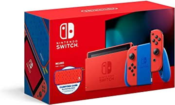 Nintendo Switch Console, Mario Red/Blue Special Edition