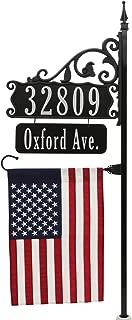 address pole sign
