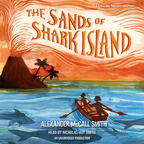 The Sands of Shark Island audiobook cover art