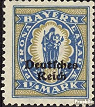 German Empire 130 fine Used/Cancelled 1920 Bayern Farewell (Stamps for Collectors)
