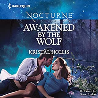 Awakened by the Wolf audiobook cover art