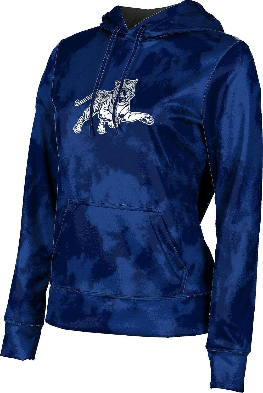 Jackson State University Girls' Pullover Hoodie, School Spirit Sweatshirt (Grunge)