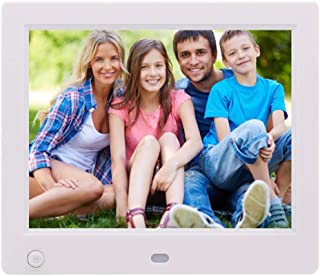 8-Inch Digital Photo Frame with 16MB Storage, High Resolution MP3 Music and 1024 * 768 HD Advertising Media Player, Auto O...
