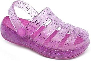 Babuche Sandália Plugt Pop Pink Gliter
