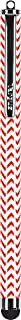 Targus Patterned Stylus for iPad, iPhone, iPod, Samsung Tablets, Smartphones and Other Touch Screen Devices, Red Chevron (AMM01B14US)