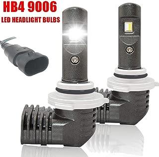 NSLUMO HB4 9006 LED Headlight Bulbs 1:1 Design Low Beam Conversion Kits 6000K 5600LM IP67 Waterproof Bright White Fog Light 2 Years Warranty (2 Pack)