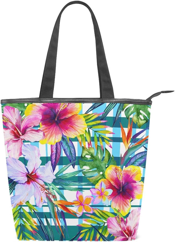 XiangHeFu Damen Handtaschen, bunte Blaumen, Blätter, Segeltuch B07J3NDHNN B07J3NDHNN B07J3NDHNN  Reparieren 734c98