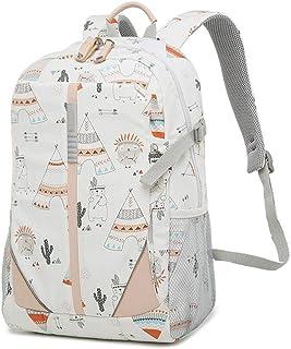 XMsbzy Vintage Style Colorful Print Leisure Backpack Color Pattern School Backpacks for Teenage Girls and Boys Waterproof Casual Daypack
