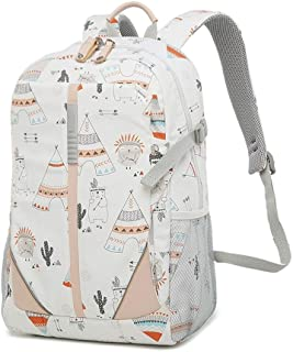 XMsbzy Vintage Style Colorful Print Leisure Backpack Color Pattern School Backpacks for Teenage Girls and Boys Waterproof Casual Daypack