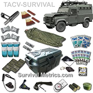 Tactical Vehicle/Automobile / RV Survival and Medical Kit - Compact