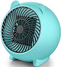 Yuan Dun'er Radiadores electricos bajo Consumo Aceite,Pequeño Calentador eléctrico doméstico Mini Calentadores de Escritorio de Dibujos Animados Lindo-Verde