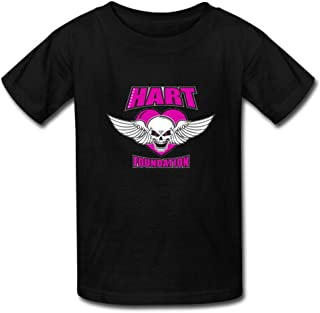 Men's Custom hart foundation t shirt