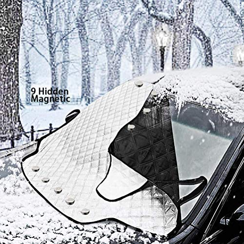 MagiqueW Car Windshield Snow Cover Car Windshield Snow Ice Cover, Car Sunshades for Windshield with...