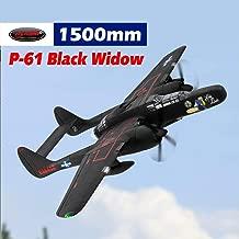 DYNAM RC Airplane P-61 Black Widow 1500mm Wingspan - PNP