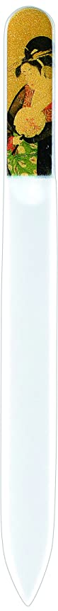 圧縮された重荷ふざけた橋本漆芸 ブラジェク製高級爪ヤスリ 十二月 椿 OPP