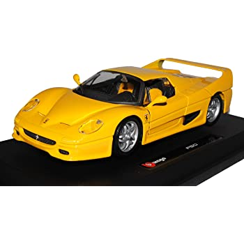Ferrari F12 TDF Coupe Gelb 2012-2017 1//64 Bburago Modell Auto mit oder ohne in..
