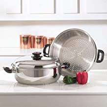 Precise Heat Surgical Stainless-Steel Oversized Skillet