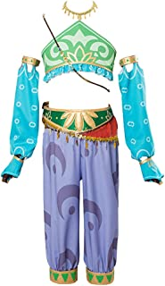 Anime Women's Gerudo Link Costume Cosplay Outfit Halloween