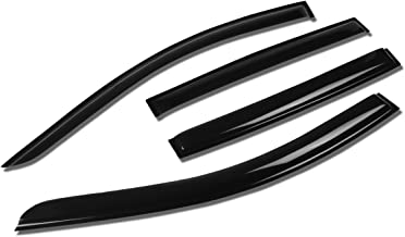 For Chevy Sonic 5-Dr Hatchback Tape-On Window Visor Deflector Rain Guard (4PC) - 5th gen GE