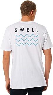 Swell Men's Mens Tee Short Sleeve Cotton Soft Grey