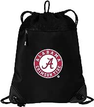 Broad Bay Alabama Drawstring Bag Alabama Cinch Pack Backpack Unique MESH & Microfiber