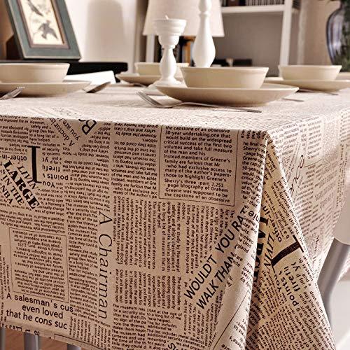 XXDD Mantel Impreso Simple Cubierta de Armario de TV paño hogar a Prueba de Polvo e Impermeable Mantel de té A1 140x140cm