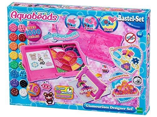 Aquabeads 31799 Glamouröses Designer Set - Bastelset
