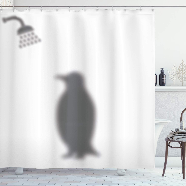 Creative Cartoon Jesus Christ Painting Waterproof Polyester Shower Curtain Set