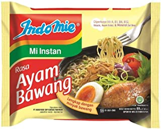 indomie noodles onion chicken