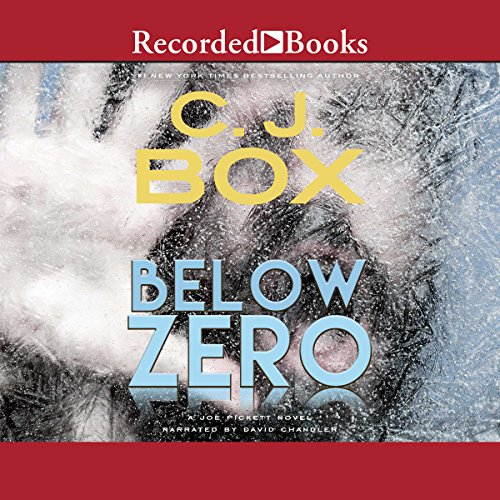 Below Zero audiobook cover art