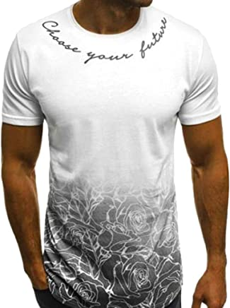 Winwinus Mens Letters Printed Casual Plus Size Plaid Tees Polo Shirts