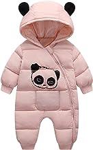Winter Jumpsuit Baby Newborn Snowsuit Warm Romper Down Cotton Girl Bodysuit