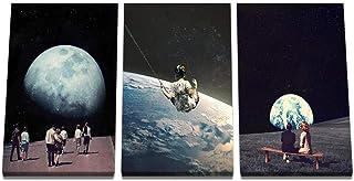 KDSMFA Live Off The Surface Of The Earth plakaty ścienne i nadruki inspirujące dzieło sztuki obraz do salonu dekoracja - b...