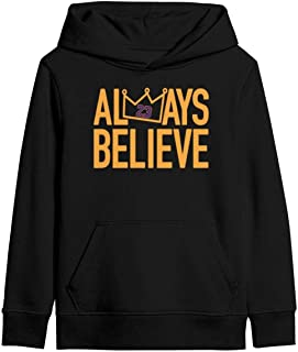 Kid 23 LABron Player Pullover Sweatshirt Long Sleeve Black Winter Tops for Boys or Girls