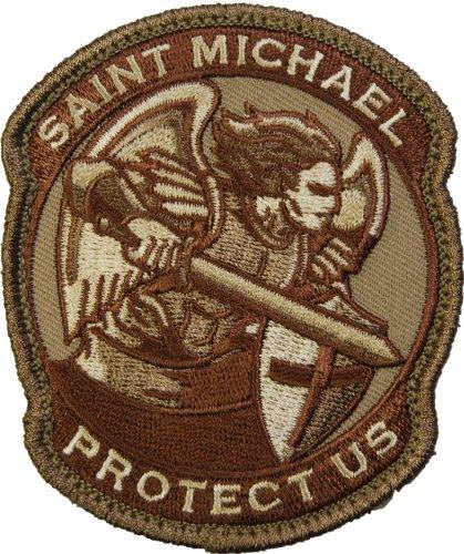 Saint Michael Modern Morale Patch (Desert (Tan))
