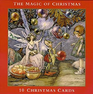FAMOUS ARTISTS CHRISTMAS CARDS- 10 CHRISTMAS CARDS IN REUSABLE CHRISTMAS WALLET