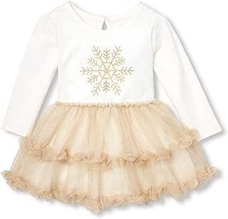 baby girl snowflake dress