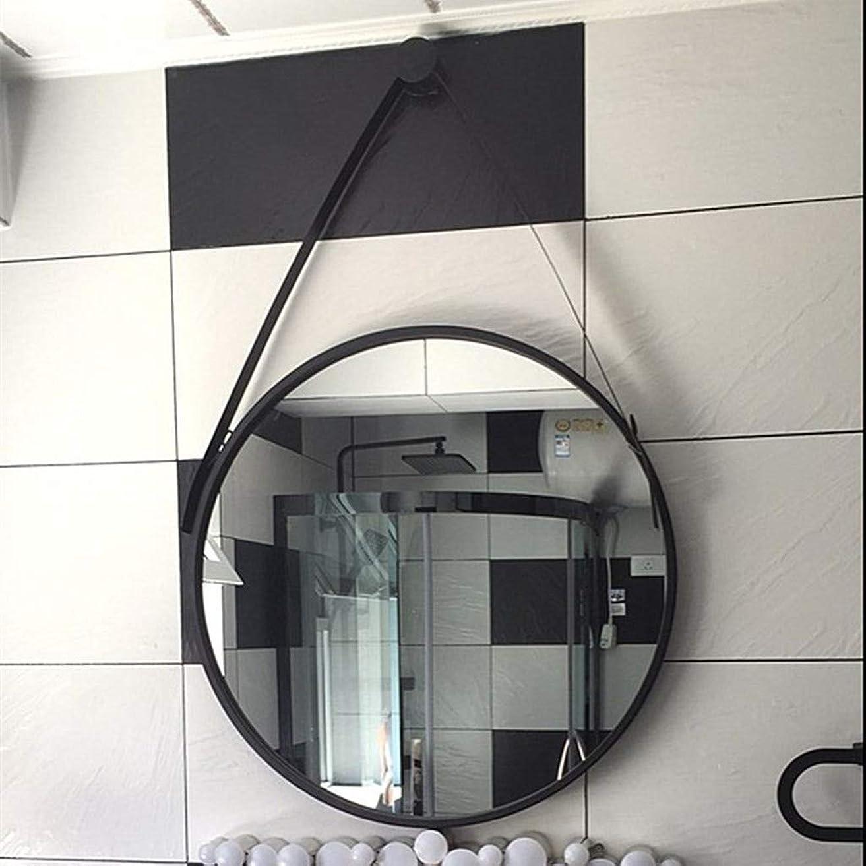 誇張する作物素晴らしさ30/40/50 cm 丸型バスルームミラー 壁バニティミラー ブラック/ホワイト/ゴールド バスルーム、ベッドルーム、リビングルーム、オフィス、エントランス、レトロな装飾。