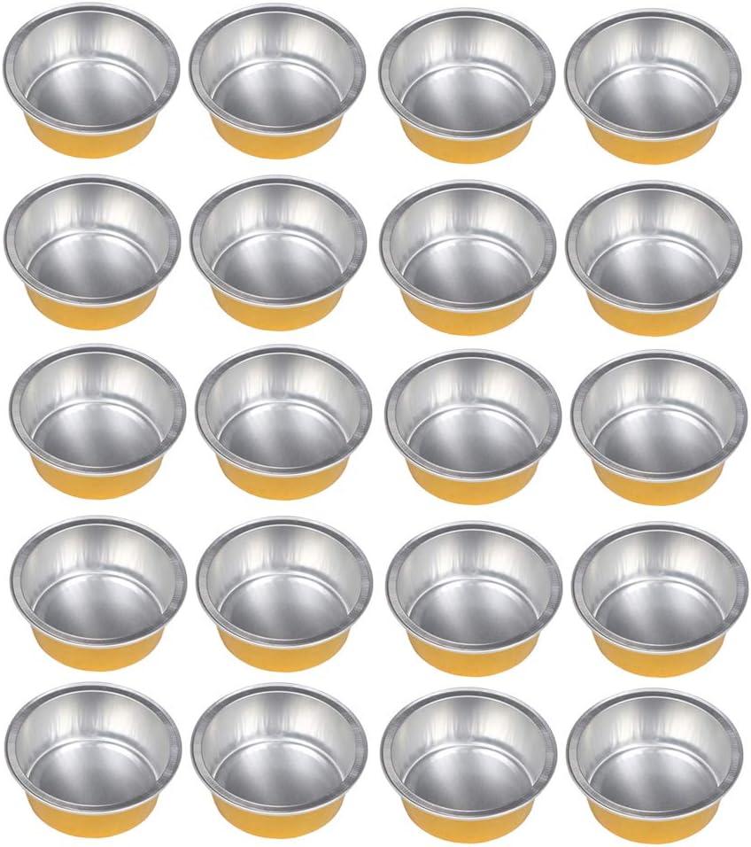 Baosity 20x Aluminium Max Max 72% OFF 88% OFF Foil Wax Pellets Melting Bowl Re Hair Mini