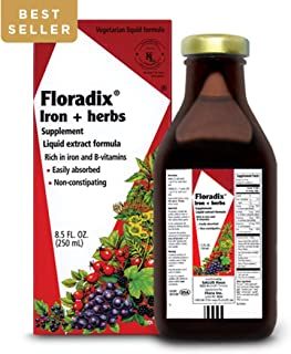 Floradix Liquid Iron & Vitamin Formula - 8.5oz