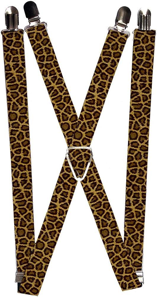 Buckle-Down Suspender - Leopard