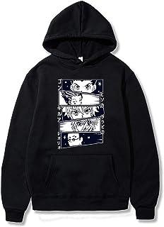 Anime Hunter X Hunter Sudaderas con Capucha Killua Kurapika Gon Hisoka Streetswear Sudadera Tops