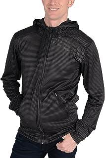 adidas mens S86476-001 Standard One Full Zip Hoodie