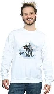 Star Wars Men's Christmas at-at Reindeer Sweatshirt