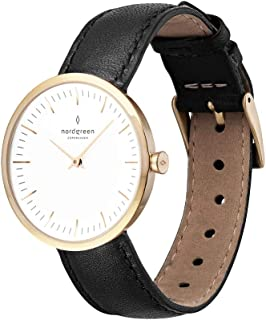 Nordgreen Infinity Scandinavian Gold Unisex Analog Watch with Strap 10020